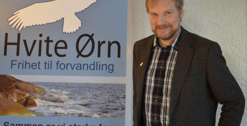 Jan-Magne representerer Hvite Ørn i BrukerROP
